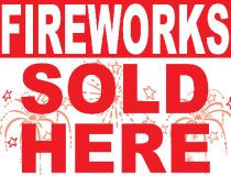 Fireworks sold here